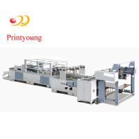 Quality Semi Auto Single Sheet-Feeding Bag Tube Forming Machine For High Grade or Luxury Handbag wholesale
