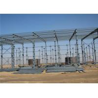 Quality Prefabricated African long-span galvanized steel structure building warehouse wholesale