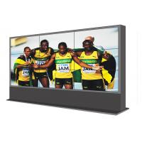 Quality Floor Standing 46 Inch LCD Video Wall , Outdoor Digital Advertising Screen wholesale