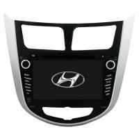 Quality Hyundai Verna /Accent /Solaris 2011-2012 Android 9.0 Car DVD Multimedia Player Sat Nav GPS HYD-7202GDA wholesale