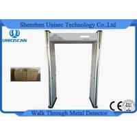 Quality Pass Through Portable Door Frame Metal Detector Gate 6/12/18 Zones At Airports wholesale