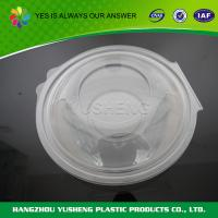 Quality Customize Disposable Plastic Food Containers PET Disposable Food Container Pasta Bowl wholesale