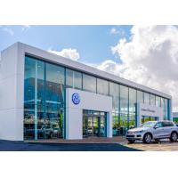 Quality Galvanized Steel Multi Car Showroom , 36.6m Span Large Car Showrooms  wholesale