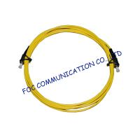 Quality Singlemode LSZH Jacket Fiber Optic Patch Cord Simplex / Duplex FC / UPC wholesale