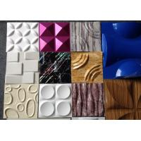 Quality Green Decorative 3D Wall Panels Paneling Textured Wall Tiles For Bathroom wholesale