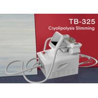 Quality Fat Freezing Weight Loss Machine / Cryolipolysis Vacuum Coolsculpting Machine wholesale
