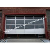 Quality Motorized Aluminum Insulated Tempered Glass Full View Overhead Garage Door wholesale