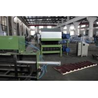 Quality 0.3-0.8 Mm Galvanized Steel PU Sandwich Panel Production Line Automatic Cooling System wholesale