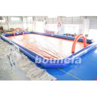 Quality Bubble Football Arena , Sport Arena For Inflatable Bumper Ball With PVC Tarpaulin wholesale