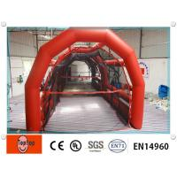 Quality Red inflatable batting cages  wholesale