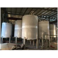 Quality Industrial Gasline / LPG Gas Storage Expansion Tanks With Full Parts Vertical Orientation wholesale