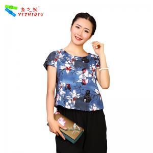 Quality Wholesale printing organic cotton women t shirt wholesale