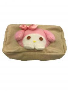 China OEM ODM Portable Mini Fashion Rabbit Cute Plush Wallet Plush Home Decor on sale