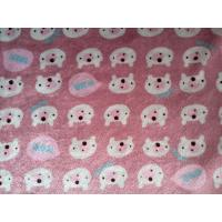 Quality 100% polyester China Supplier Mink Velour Fabric, Micro Mink Fabric, Mink Dot Fabric,Print wholesale