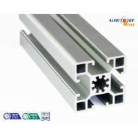 Quality Silver Industrial Aluminum Profile Thin Wall Anodized Surface 6 Meters Length Max wholesale