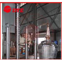 Quality 2000L Alcohol Still Kits With Water Tank / Stainless Product Condenser wholesale