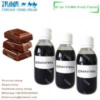 Cheap Best VG/PG based fruit/tobacco/mint flavourings liquid high concentrated Chocolate flavor for E-juice for sale