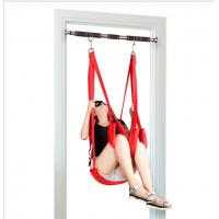 Quality Fantasy Love Bondage Sex Toys novelty door Black sexy swing For adult game wholesale
