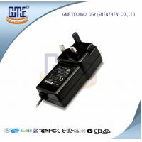 Quality Black Switching Adapter 12v , GME Power Adapter UK Plug 47Hz - 63Hz wholesale