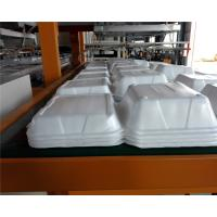 Quality Styrofoam Automatic Vacuum Forming Cutting Stacking Integrated Machine For Food Container wholesale