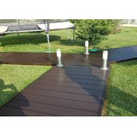 China Hollow Wood Plastic Composite Products Corrosion Resistance Eco - Friendly on sale