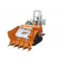China Self Walking Crawler Half-feeding Combine Harvester 4LBZ-110 with 20HP diesel Engine on sale