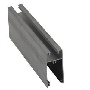 China 6061 6063 Electrophoresis Double Glazed Aluminum Window Frame Profile on sale