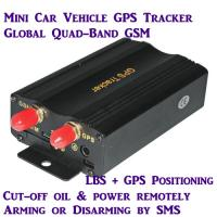 Quality New TK103A Global Car Auto GPS Vehicle Tracker W/ Real-time online tracking on Google Map wholesale