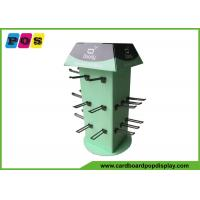 Buy cheap Four Sides Rotated Cardboard Counter Display , Black Pegs Retail Counter Displays CDU026 from wholesalers