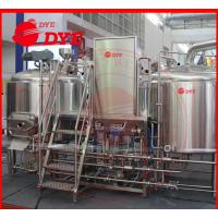 Quality 5BBL All Grain Home Brewing Equipment , Small Brewery Equipment wholesale