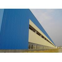 Quality Heavy Steel Structure Workshop Construction With Alkyd Primer Surface Treatment wholesale