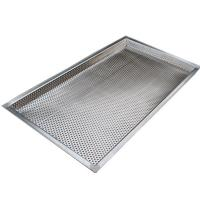 Quality Food grade stainless steel perforated filter moisture drying tray wholesale