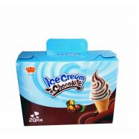 Quality Fancy and Crisp Chocolate Candy Crisp Ice Cream Shaped Chocolate Dessert Cups wholesale