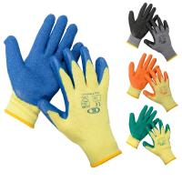 China cheapest cut resistant gloves,latex coated cut resistant safety gloves on sale