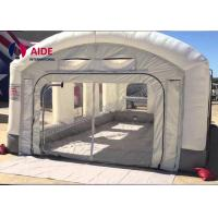 Quality Mobile Inflatable Spray Booth For Car , Portable Paint Booth Pvc Tarpaulin wholesale