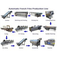 Quality Stable Automatic Potato Chips Making Machine Frozen French Fries Making Machine wholesale
