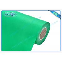 Quality Green OEM Non Woven Polypropylene Spunbond Fabric Recyclable / Eco Friendly wholesale