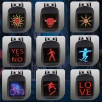 China P3.75 Smart Led Backpack Fashion Trends With Application Controlling for sale