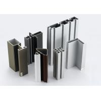 China Modular T Slotted Aluminum Extrusion Profiles / Aluminum Door And Window Frames on sale