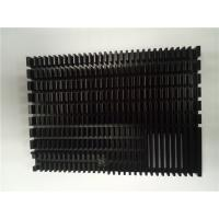 Quality Custom Extrusion Aluminum Heat Sinks / Cold Forging Pin Fin Cob 0.2 Mm Thin wholesale