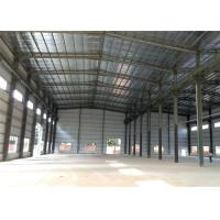 Quality Q235B, Q345B Grade fast installed EPS/PU/XPS sandwich panel steel structure warehouse wholesale