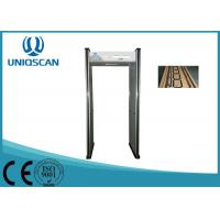Quality 100 Band Multi Zone Metal Detectors , Full Body Airport Metal Detectors For Security System wholesale