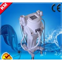 Quality 7 In 1 Tripolar RF+Cavitation+Lipolysis Slimming Machine wholesale