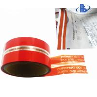 Quality Anti Tamper Security VOID Tape For Shipping Courier Services / Banks wholesale