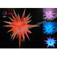 Cheap Quote Five Inflatable LED Star Lighting System For Bar Decoration near me for sale