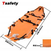 Quality Single Folding Stretcher Folding Vacuum Mattress Soft Stretcher for Emergency wholesale