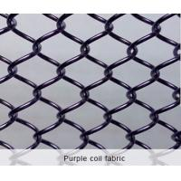 Quality Silver Metal Coil Drapery ,Wire Drapery For Building Decoration Materials wholesale