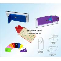 Quality Smart Phone Wallet, Smart wallet with 3M adhesive tape at the back wholesale