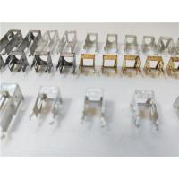 Quality Four Cavities Sheet Metal Bending Dies Remote Control Interface Connector 0.2mm Thickness wholesale