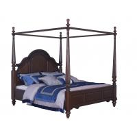 Cheap Palatial Villa House Bedroom Furniture set Classic Wooden King size Bed with Grand Night table with Decoration display for sale